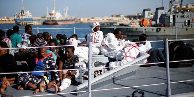 Flüchtlingsdrama: Fünf Tote im Mittelmeer