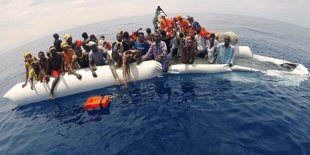 Flüchtlinge weichen Italien aus