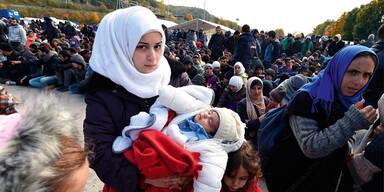 Flüchtlinge Moslem