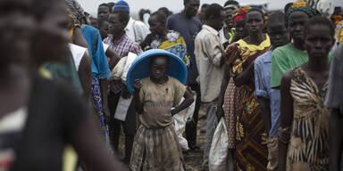 Flüchtlinge Südsudan