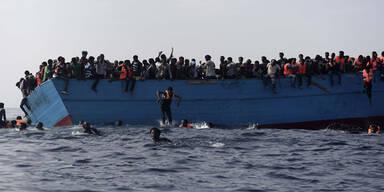 Flüchtlinge erstickt Libyen