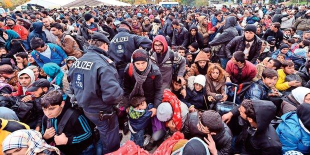 Streit um Familiennachzug von Flüchtlingen