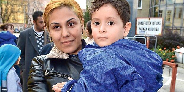 Peinlicher Streit um Asyl-Quote