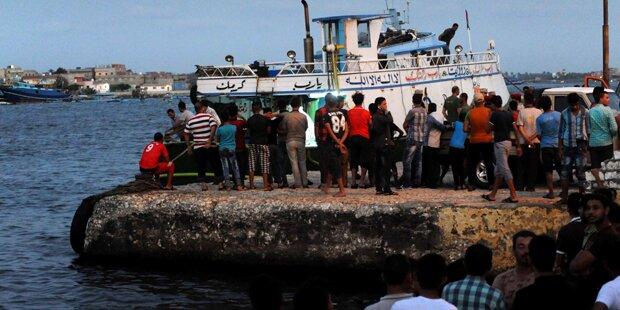 42 Tote nach Untergang von Flüchtlingsboot