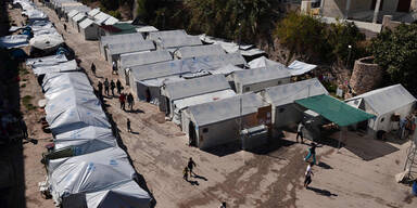 Flüchtlingslager Ägäis
