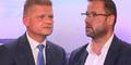 Wüstes Schreiduell zwischen Hanger und Hafenecker auf oe24.TV