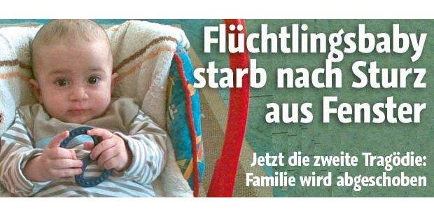 Flüchtlingsbaby starb nach Fenstersturz