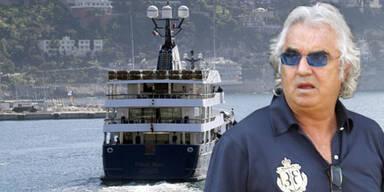 Flavio Briatore und seine Luxus-Yacht