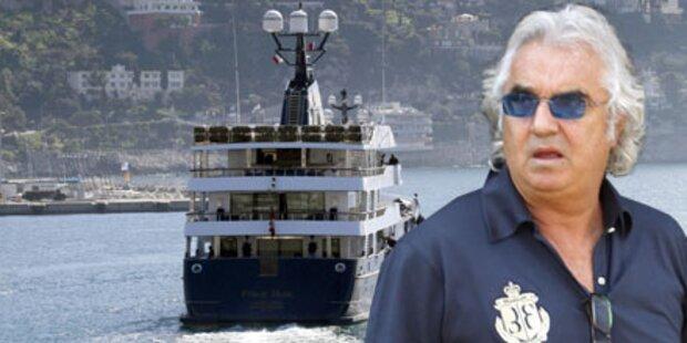 Briatore: Luxusjacht beschlagnahmt