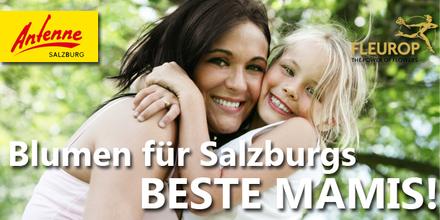 Blumige Grüße von Fleurop zum Muttertag