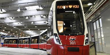 Flexity Straßenbahn Wien
