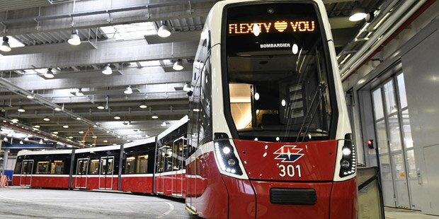 Das sind die neuen Wiener Straßenbahnen