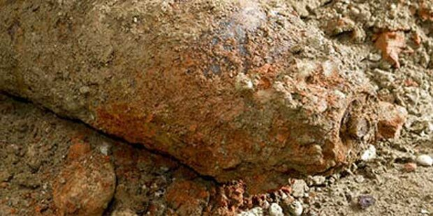 50-kg-Fliegerbombe in Traun gefunden