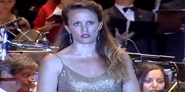 Opernsängerin erlitt Gehirnschalg auf Bühne