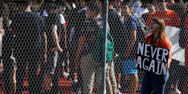 Florida: Schüler-Demo nach Massaker