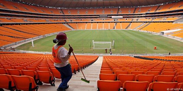 Fußball-WM-Organisatoren hoffen auf volle Stadien