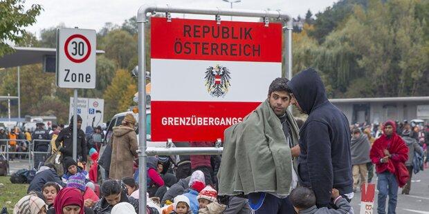 Übergabemodus von Flüchtlingen