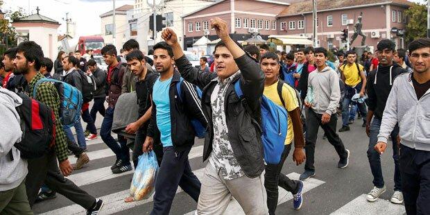 Flüchtlings-Transitquartiere werden aufgelassen