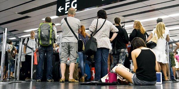 Totales Flug-Chaos in den Ferien
