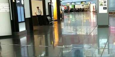 Flughafen Bomben-Alarm