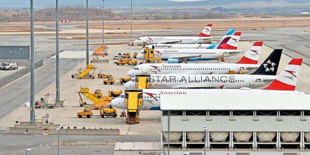 Streiks: Auch Österreich-Flüge betroffen