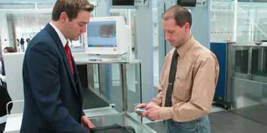 Flughafen Sicherheit Kontrolle