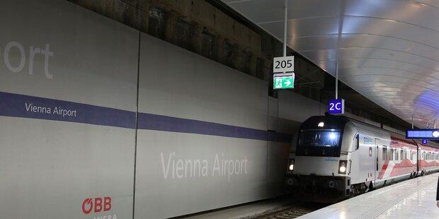 Neue Zugverbindung zum Flughafen Wien