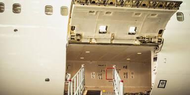 Flugzeug Frachtraum
