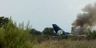 Flugzeug Mexiko