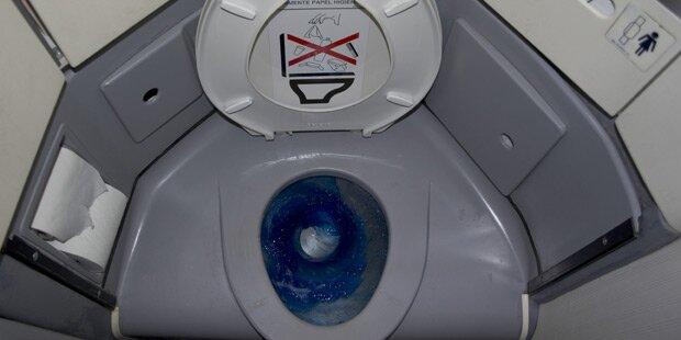Darum darf Crew keine Flugzeugtoiletten reinigen