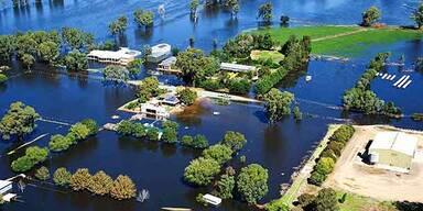 Überschwemmungs-Chaos in Australien