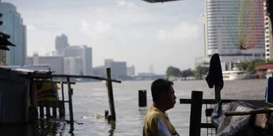 Bangkok Flut Hochwasser
