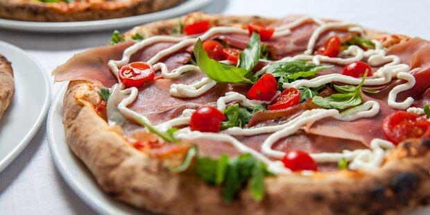Gewinnen Sie 1 Jahr Gratispizza für 2
