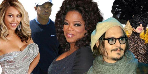 Oprah Winfrey wichtigste Prominente