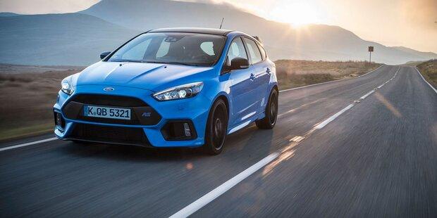 Ford schärft den Focus RS nach