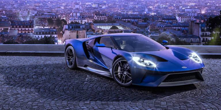 So stark und schnell ist der neue Ford GT