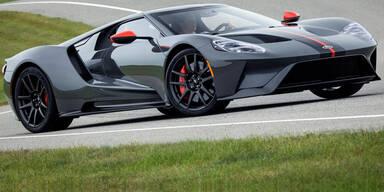 Ford GT kommt als Carbon-Edition