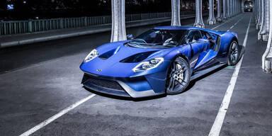Produktion des Ford GT wird verlängert