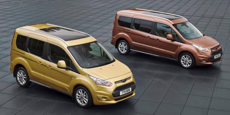 Ford wertet den Tourneo Connect auf