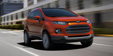 Weltpremiere des Ford EcoSport Concept