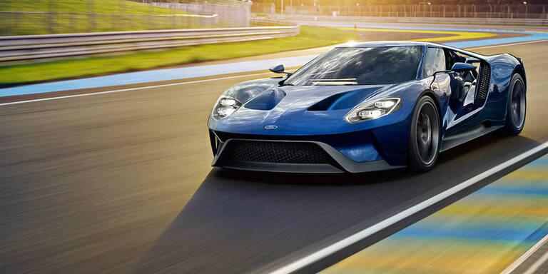Startschuss für den neuen Ford GT