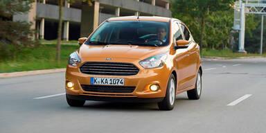 Jetzt startet der Ford Ka+ in Österreich