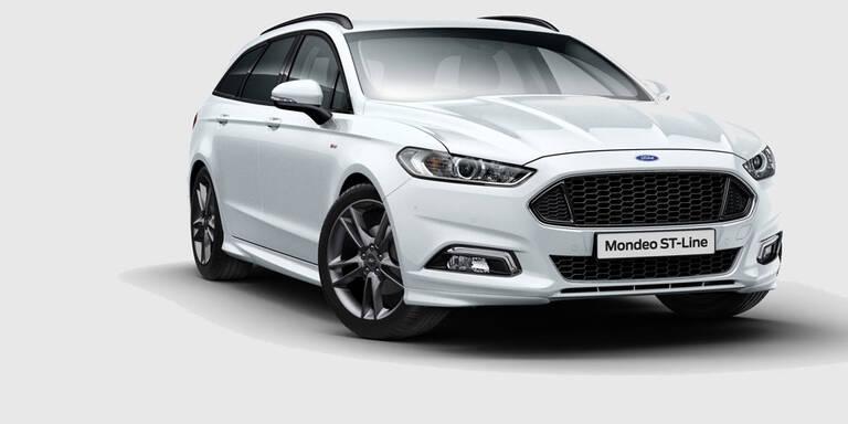 Ford greift mit dem Mondeo ST-Line an