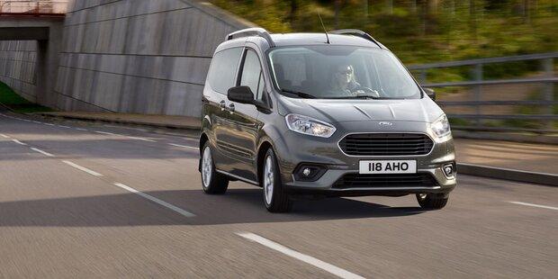 Ford rüstet seine Tourneo-Modelle auf