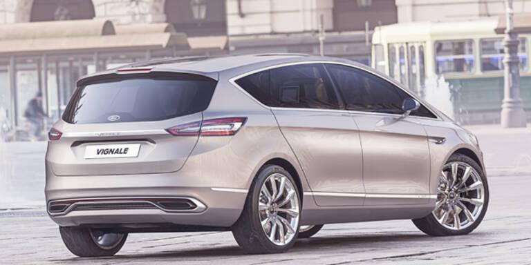 Ford zeigt den S-MAX Vignale Concept