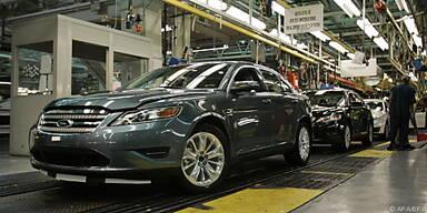Ford hebt die Produktion in Nordamerika an