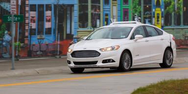 Ford testet sein autonomes Auto