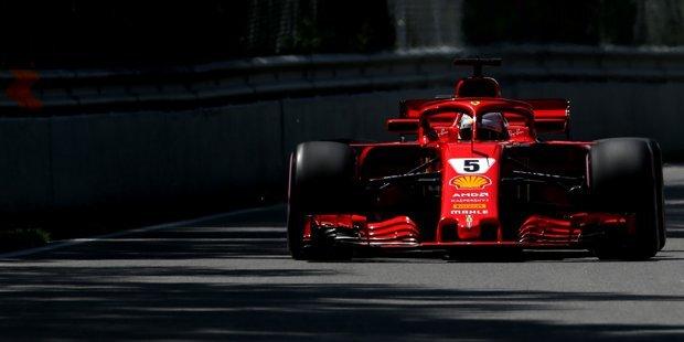 Sieg und WM-Führung für Vettel