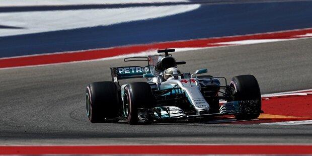 Formel 1: Hamilton rast zum Sieg