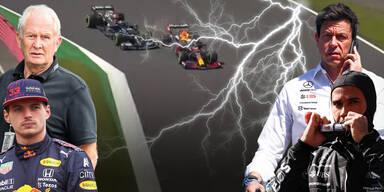 Formel-Krach zwischen Mercedes und Red Bull